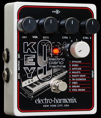 Electro Harmonix Key9 Electric Piano Machine at The Guitar Sanctuary McKinney Texas