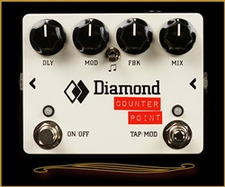 Diamond CTP1 Counter Point Delay Pedal at The Guitar Sanctuary McKinney Texas