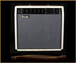 Mesa Boogie Mark Five:35 1x12 Combo in Patent White Snakeskin