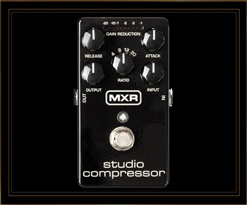 MXR M76 Studio Compressor Pedal at The Guitar Sanctuary McKinney Texas