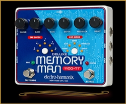 The Guitar Sanctuary | Electro Harmonix | Deluxe Memory Man | 1100-TT with Tap Tempo