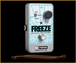 Electro Harmonix Freeze Infinite Sustain Pedal at The Guitar Sanctuary McKinney Texas