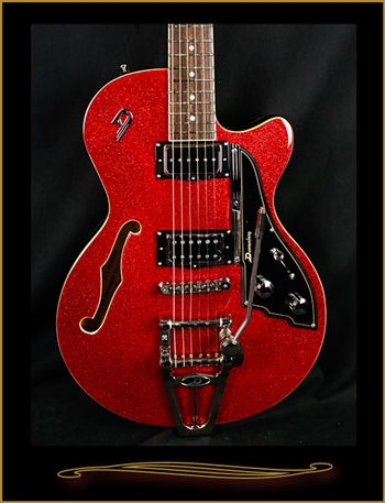 Duesenberg Starplayer TV Red Sparkle