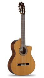 Alhambra 3C-CW Mahogany Classical with Cutaway