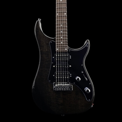 Vigier Excalibur Shawn Lane Signature Master Model in Clear Black at The Guitar Sanctuary
