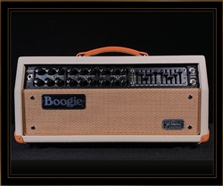 Mesa Boogie JP-2C and Horizontal Rectifier Cabinet in Cream Bronco