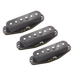 Fishman Fluence Single Width Set Black