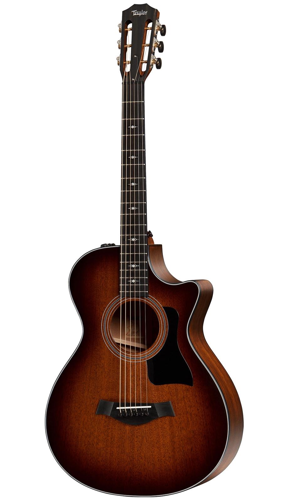 taylor 322ce 12 fret in sunburst at the guitar sanctuary mckinney texas