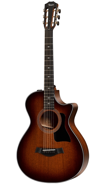 Taylor 322CE 12-Fret in Sunburst at The Guitar Sanctuary McKinney Texas