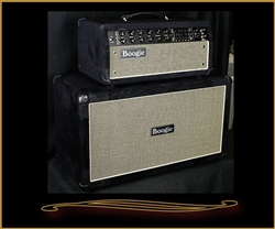 Mesa Boogie Mark Five:35 Head and 2x12 Compact Rectifier Cabinet in Black Velvet