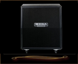 Mesa Boogie Road King 4x12 Slant Cabinet in Black Taurus