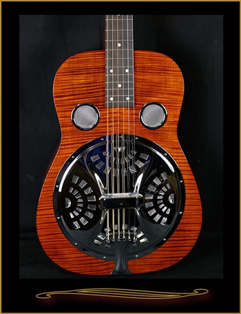 Beard E-Model Basic Squareneck Resonator with Fishman Electronics