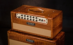 Mesa Boogie Private Reserve Lone Star Head and Matching 2x12 Cabinet in Sapele with Tan Grilles