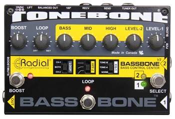 Radial Bassbone V2 Bass Guitar Preamp and DI Box