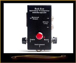 Fire-Eye Red-Eye Acoustic Guitar Preamp