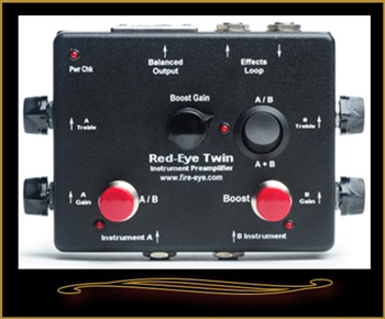 Fire-Eye Twin Acoustic Guitar Preamp