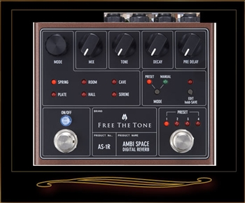 Free The Tone AS-1R Ambi Space Digital Reverb