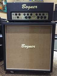 Preowned Bogner Goldfinger 90 Head and 4x12 Straight Cabinet