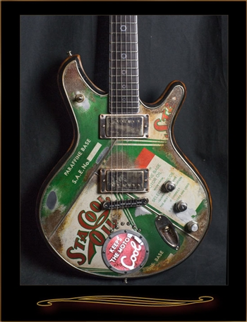 McSwain Guitars StaCool Motor Oil SM-1