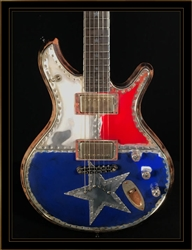 McSwain Guitars Texas Flag SM-1