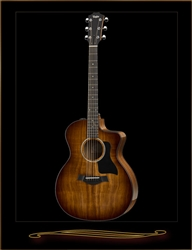 Taylor 224CE-K DLX Koa Grand Auditorium