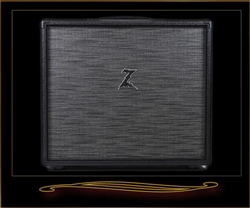 Dr. Z 1x12 Cabinet in Black with ZWreck Grille