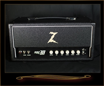 Dr. Z MAZ 38 SR NR Head in Black