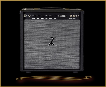 Dr. Z Cure 1x12 Combo in Black with ZWreck Grille