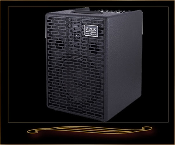 Acus One for Strings 8 Acoustic Amp in Black