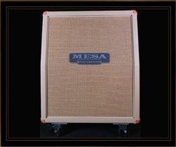 Mesa Boogie 2x12 Rectifier Vertical Slant Cabinet in Cream Bronco
