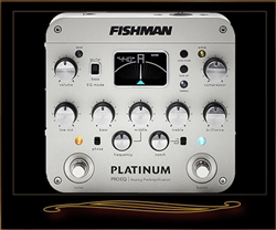Fishman Platinum Pro EQ/DI Analog Preamp for Acoustic Guitar