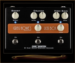 Carl Martin Greg Howe Signature Lick Box Overdrive Distortion and Boost Pedal