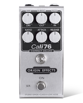 Origin Effects Cali76 Compact Deluxe Studio-Style Compression Pedal