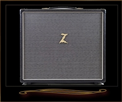 Dr. Z 1x12 Cabinet in Black with Salt and Pepper Grille