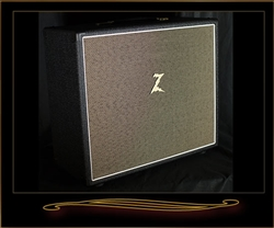 Dr. Z 1x12 Cabinet in Black with Tan Grille