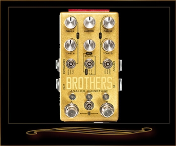 Chase Bliss Audio Brothers Analog Gainstage Overdrive