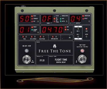 Free The Tone FT-2Y Flight Time Digital Delay Version 2