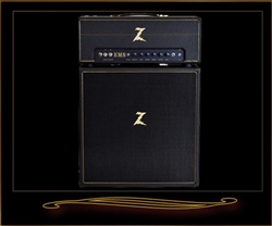 Dr. Z EMS Head and Matching 2x12 Cabinet in Black