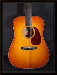 Collings D1 Traditional with Torrefied Adirondack Spruce Top and Sunburst Top Finish