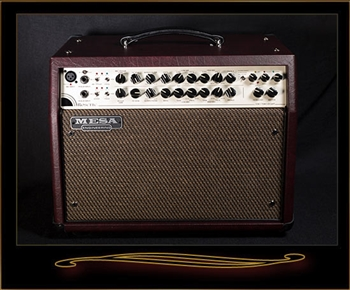 Mesa Boogie Rosette 300 Two:Eight Acoustic Combo in Wine Taurus with Gold Grille