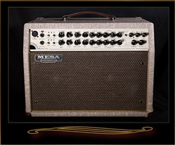 Mesa Boogie Rosette 300 Two:Eight Acoustic Combo in Fawn Slub with Gold Grille