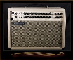 Mesa Boogie Rosette 300 Two:Eight Acoustic Combo in Cream Bronco with Cream & Black Grille