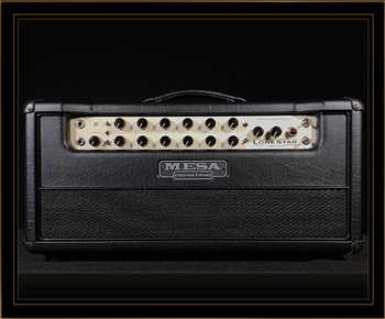 Mesa Boogie Lone Star Special Head in Black Taurus with Black Front Panel
