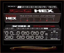 Voodoo Lab HEX True Bypass 6-Loop Audio Switcher