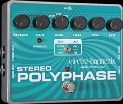Electro Harmonix Stereo Polyphase Analog Optical Envelope/LFO Phase Shifter at The Guitar Sanctuary McKinney Texas