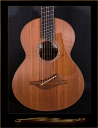 Lowden Wee Lowden Fan Fret Chechen with Redwood Top