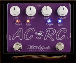 Xotic Oz Noy Limited Edition AC/RC-OZ Boost and Overdrive Pedal