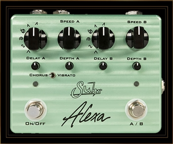 Suhr Alexa Multi-Wave Dual Channel Analog Chorus and Vibrato