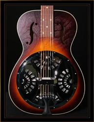 Beard Deco Phonic Model 27 Roundneck Resonator with Fishman Electronics