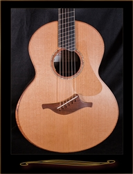 Lowden S-50FF Fan Fret in Ziricote with Red Cedar Top and Armrest